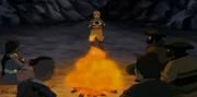 Aang lee el comunicado del gobernador