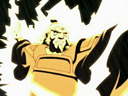 Iroh redirects lightning