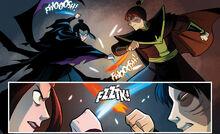 Комикс ДТ3 Азула против Зуко