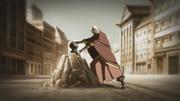 Aang usando Energía Control en Yakone
