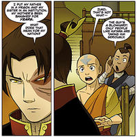 Zuko thinks about family