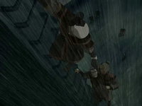 Zuko saving the helmsman
