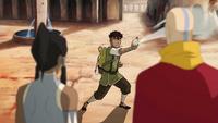 Kai shows his airbending