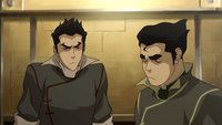 Mako encouraging Bolin