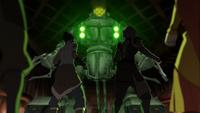 Korra und Lin gegen Robo-Panzer