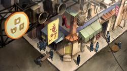 Wu's evacuation speech background