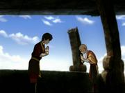 Zuko es aceptado por Aang