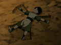 Toph makes a rock angel.png