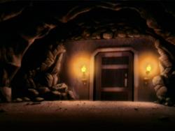 Berg Gevangenis deur