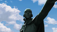 КОткрсцена Статуя Аанга