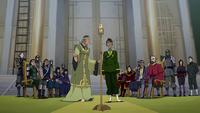 Wu's coronation