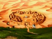 Oasis de las Palmeras Brumosas