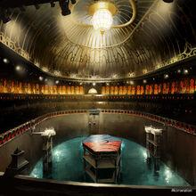 Арена для турнира магов арт