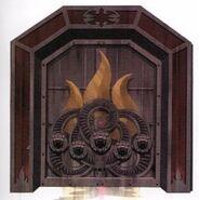 Артбук ЛоА Дверь