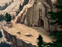Rakastavaisten luolan sisäänkäynti
