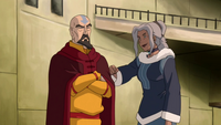 Tenzin and Kya
