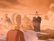 Aang conoce a Roku