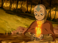 Aang firebends for the first time.png