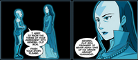 Aang asks Yangchen about her past