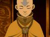 Aang at peace