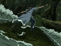 Katara fights Swamp Monster.png