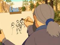 Painting Aang