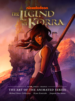 The Legend of Korra The Art of the Animated Series Book Three