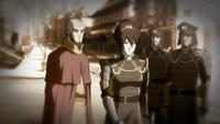 Aang y Toph adultos