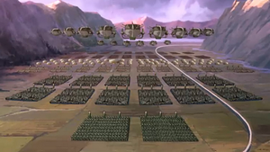 Kuvira's leger