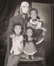 Семья Аанга и Катары