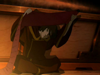 Zuko searching for answers