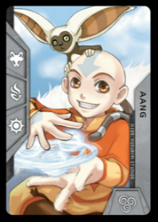 Aang Chamber Card trait demonstration