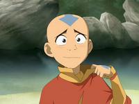 Aang feels hot