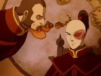Zhao and Zuko talk