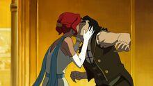 К2х11 Джинджер целует Болина
