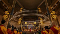 Airbending master anointment ceremony
