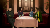 Tensions among Team Avatar