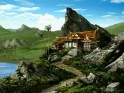Casa de Ozai en la isla