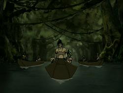 Foggy Swamp Tribe's skiffs