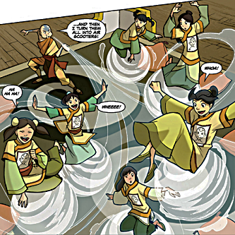 File:Aang entertaining the Official Avatar Aang Fan Club.png
