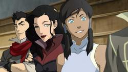Korra and Asami
