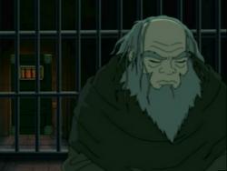Iroh in de gevangenis