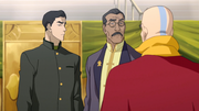 Mako, Raiko y Tenzin
