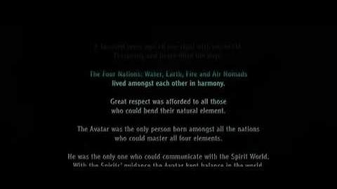 The Last Airbender film - Opening Narration (49 seconds).avi
