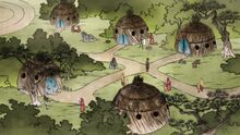 К2x08 Деревня на воздушном льве-черепахе