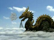 3х10 статуя дракона
