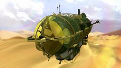 Ba Sing Se airship