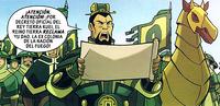 El General How ordenando desocupar Yu Dao