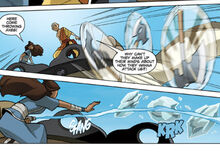 Комикс О3 атака на Аанга