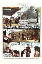 Combustion Man on a Train 1